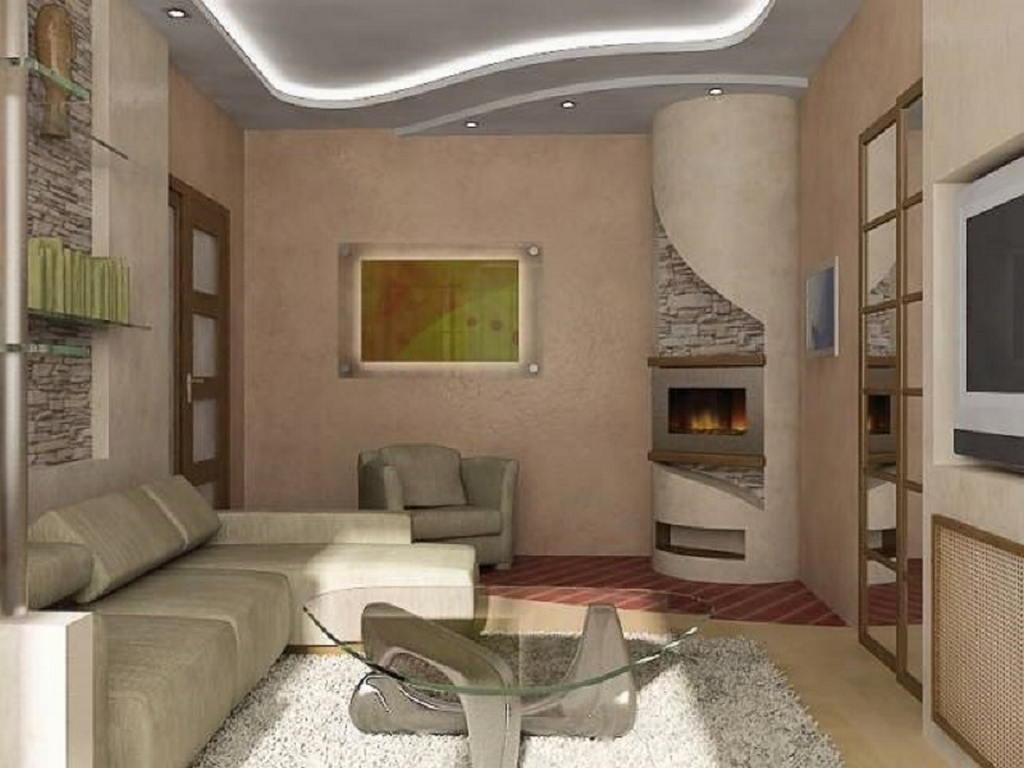 Тепло и уют — камин в интерьере квартиры и дома 94