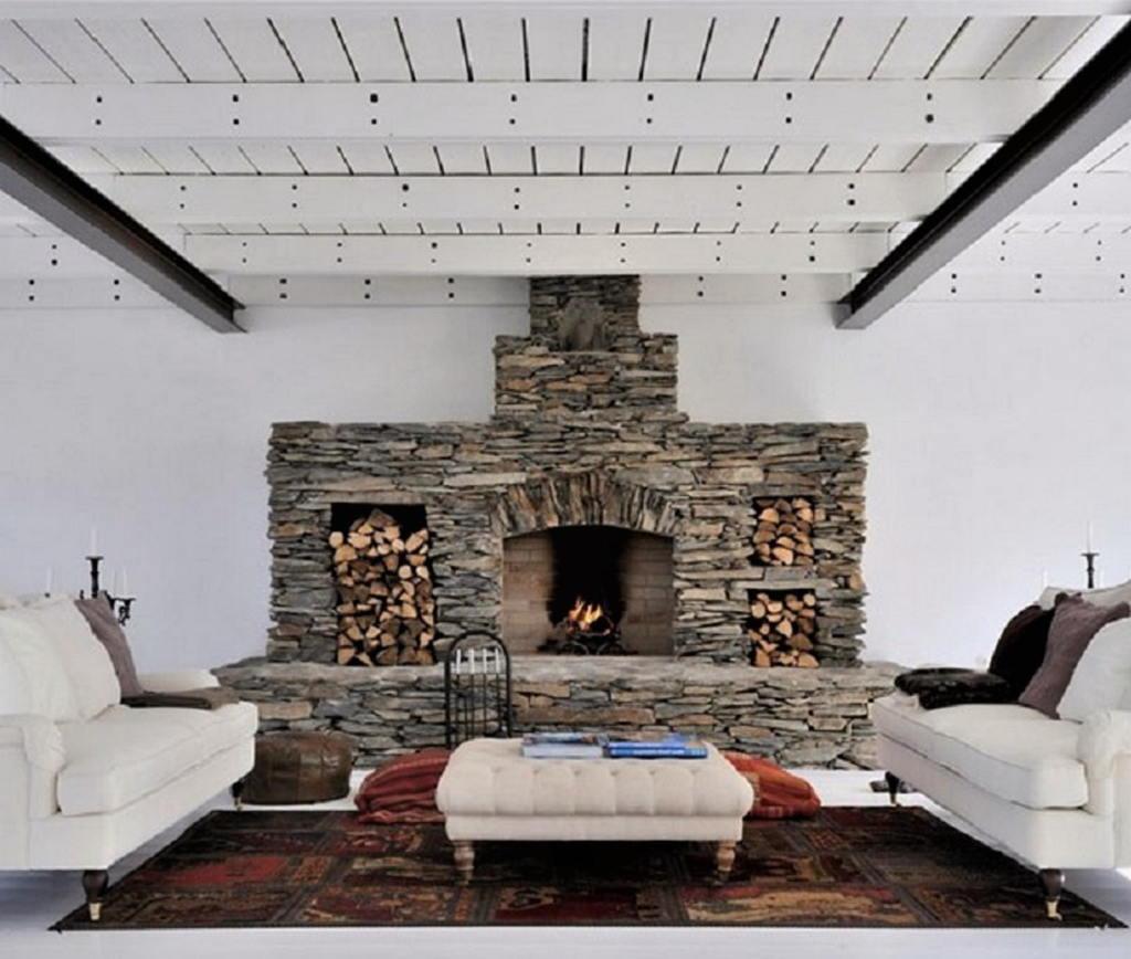 Тепло и уют — камин в интерьере квартиры и дома 95