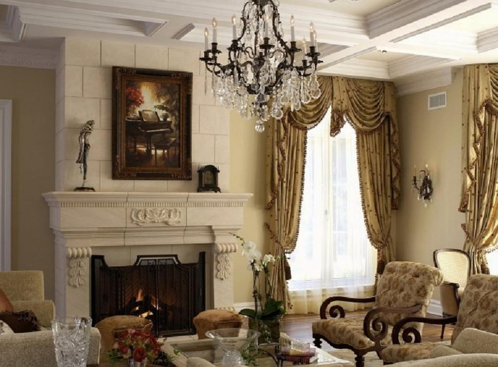 Тепло и уют — камин в интерьере квартиры и дома 99