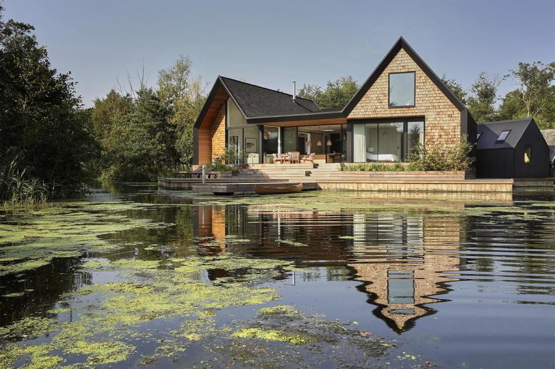 Дом на берегу озера от студии Platform 5 Architects 1