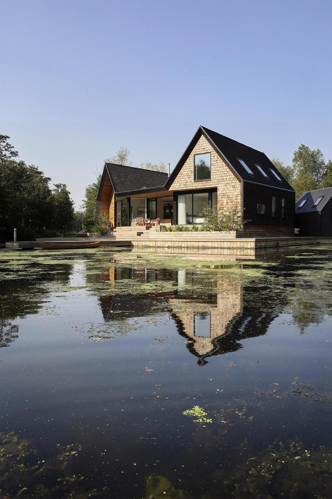 Дом на берегу озера от студии Platform 5 Architects 10
