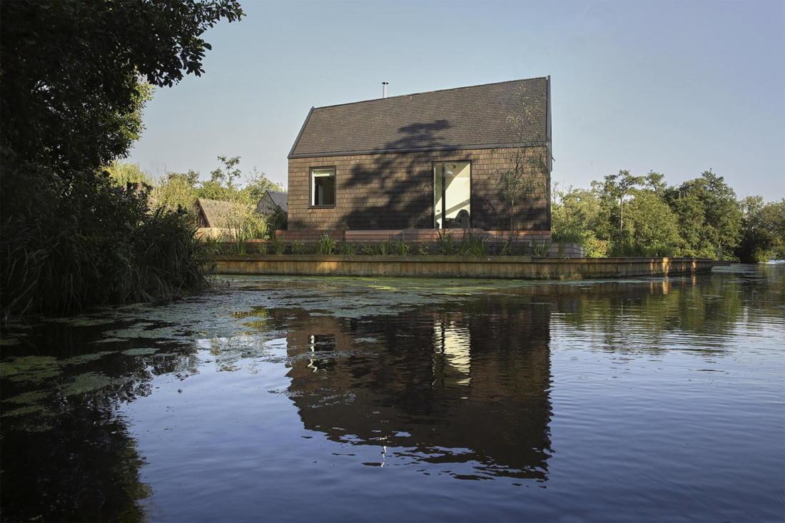 Дом на берегу озера от студии Platform 5 Architects 13