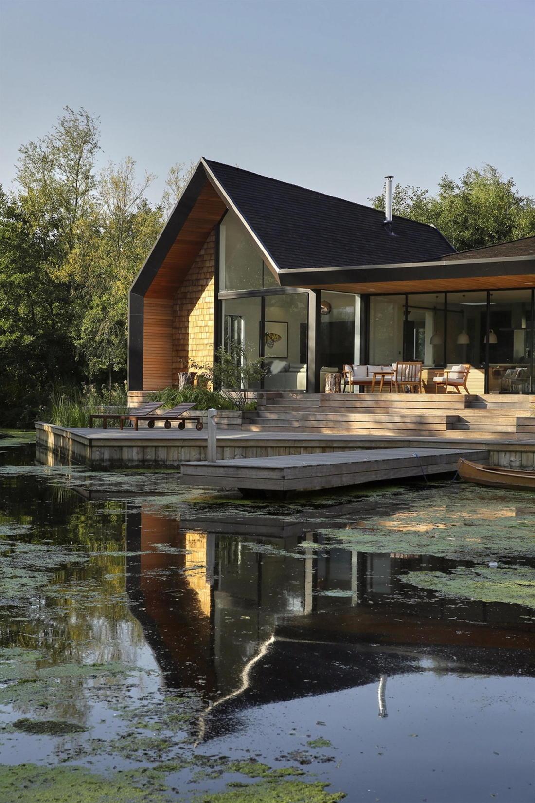 Дом на берегу озера от студии Platform 5 Architects 15
