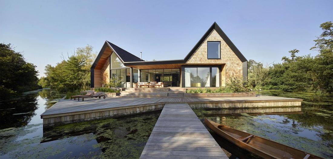 Дом на берегу озера от студии Platform 5 Architects 17