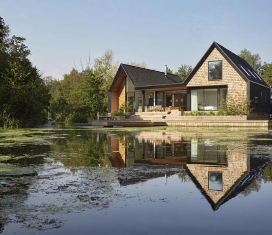 Дом на берегу озера от студии Platform 5 Architects 19