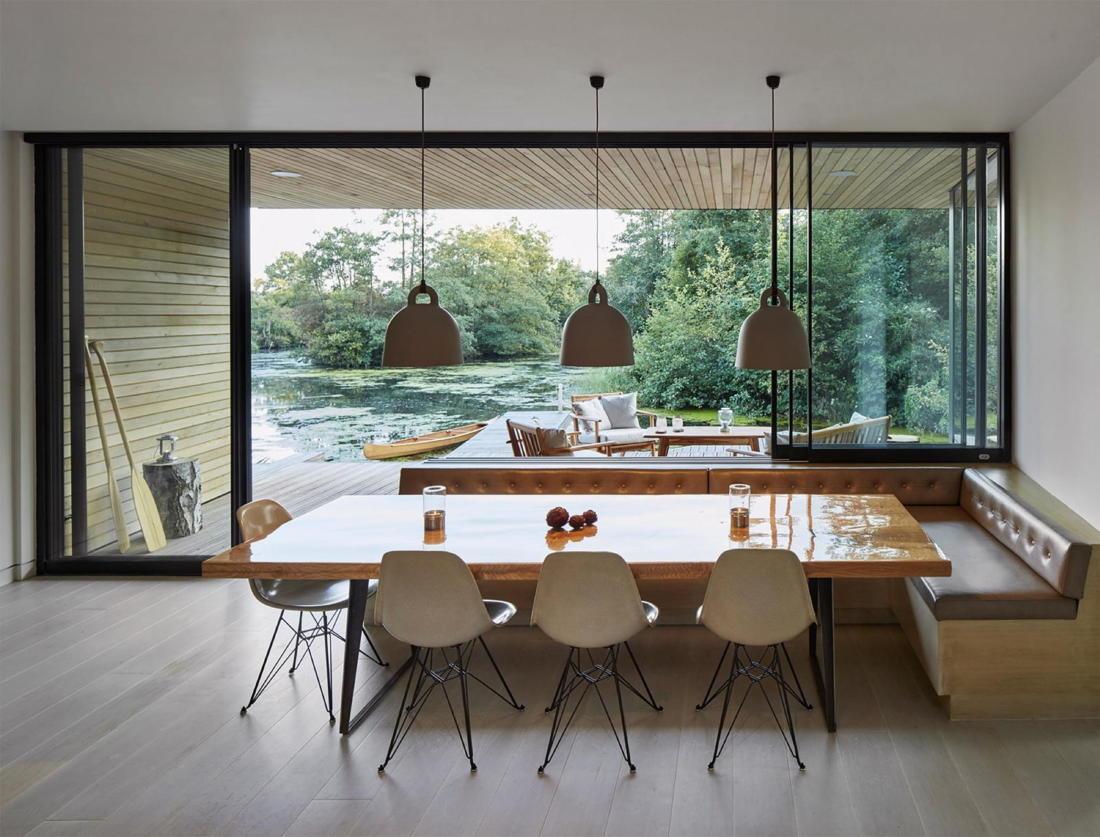 Дом на берегу озера от студии Platform 5 Architects 2