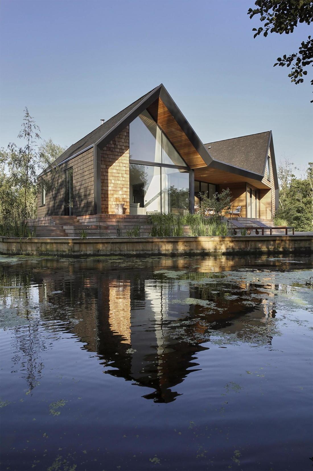 Дом на берегу озера от студии Platform 5 Architects 20