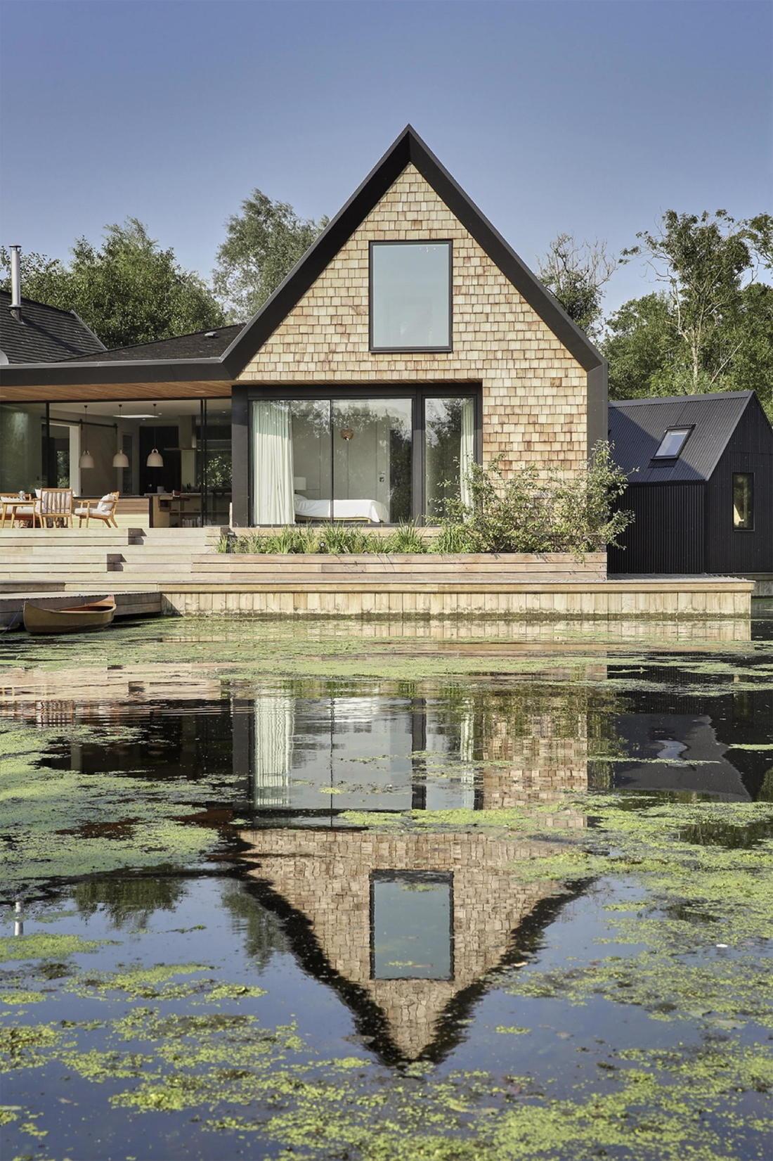 Дом на берегу озера от студии Platform 5 Architects 25