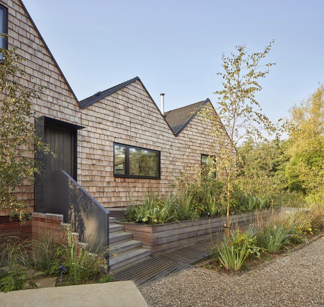 Дом на берегу озера от студии Platform 5 Architects 26