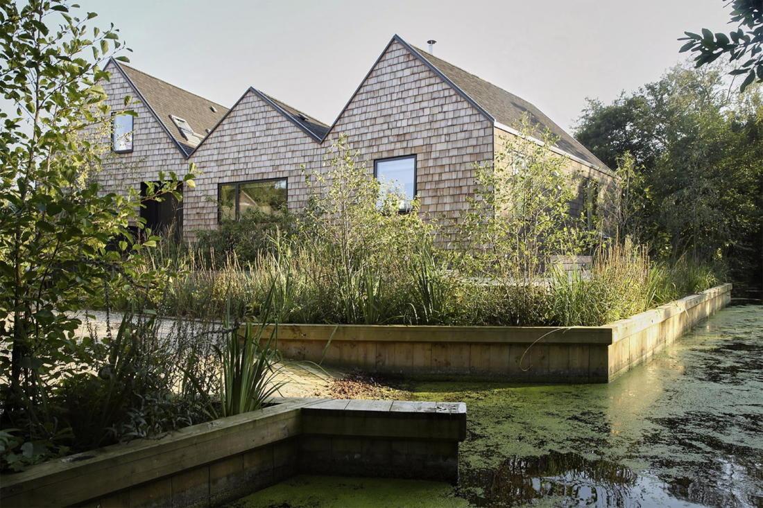 Дом на берегу озера от студии Platform 5 Architects 27