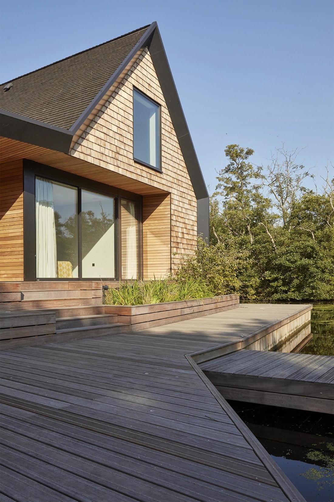Дом на берегу озера от студии Platform 5 Architects 3