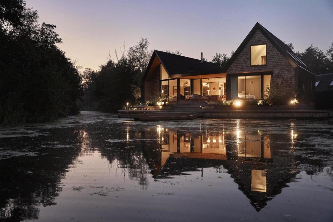Дом на берегу озера от студии Platform 5 Architects 32