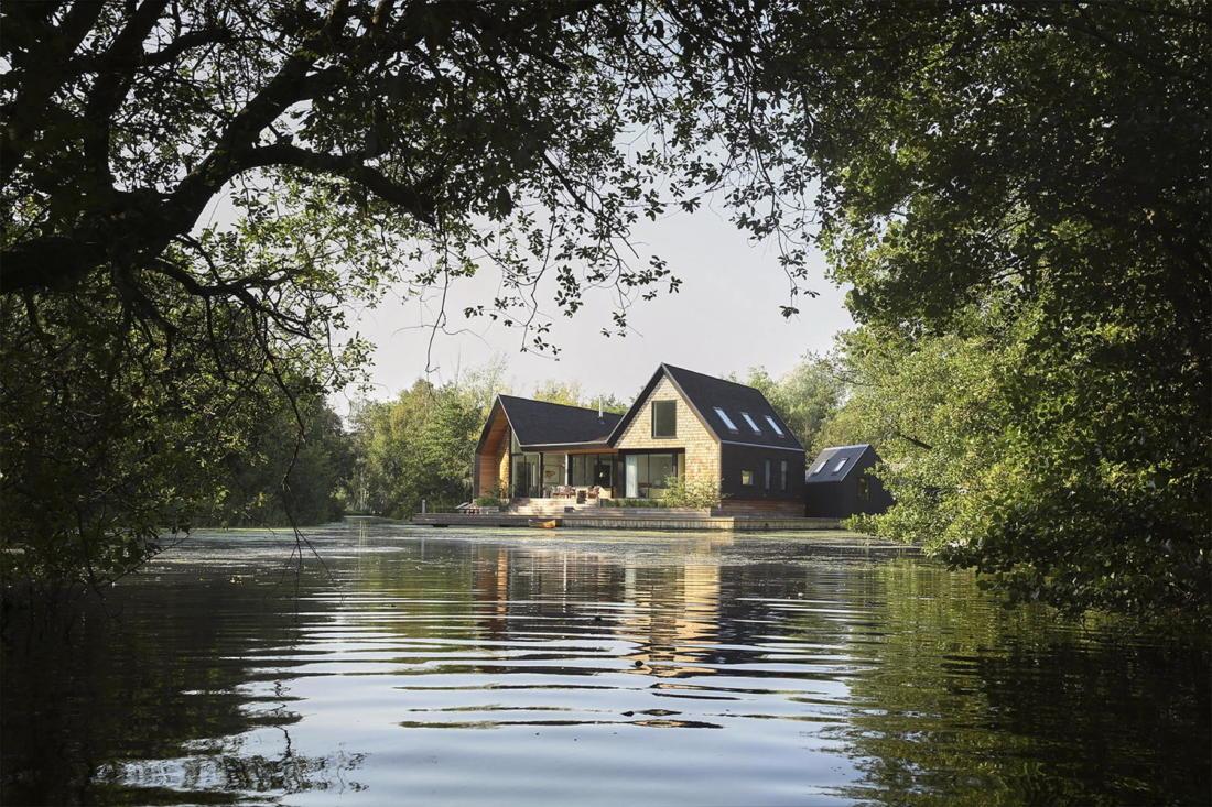 Дом на берегу озера от студии Platform 5 Architects 9