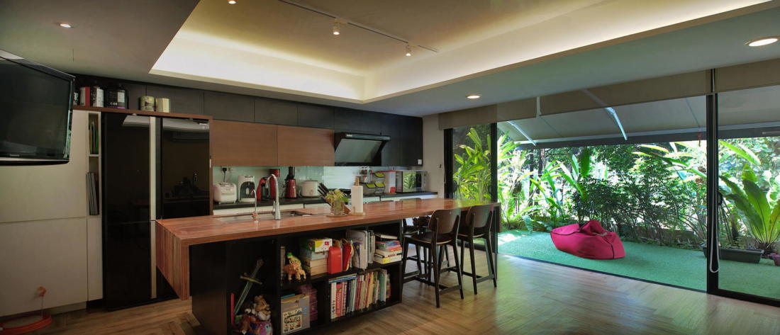 Indah House от ателье Seshan Design 11
