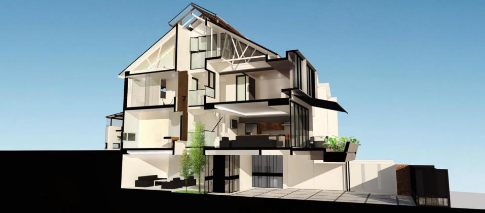 Indah House от ателье Seshan Design 25