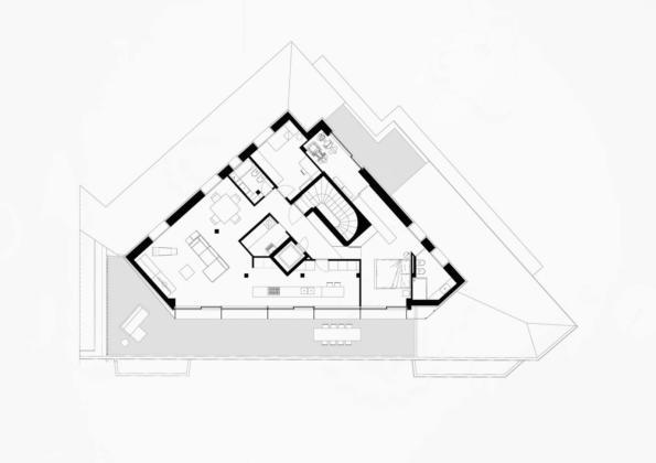 Проект Attico UB в стиле лофт от студии Teka 12