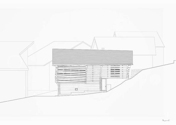 Проект альпийского лофта от студий Office Winhov и Office Haratori 17