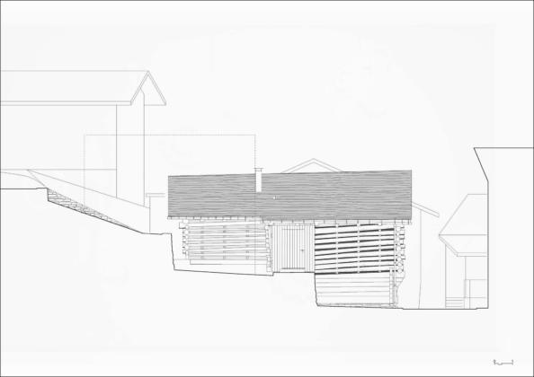 Проект альпийского лофта от студий Office Winhov и Office Haratori 18