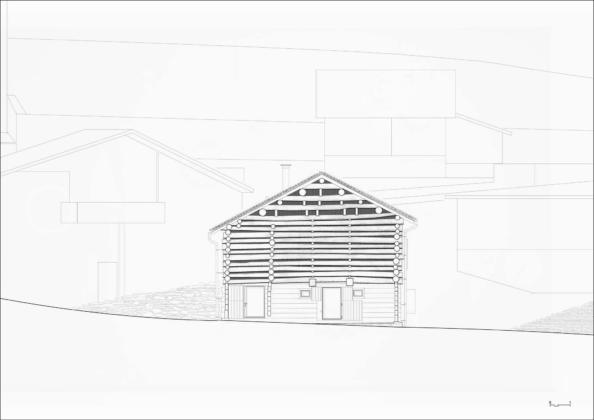 Проект альпийского лофта от студий Office Winhov и Office Haratori 20