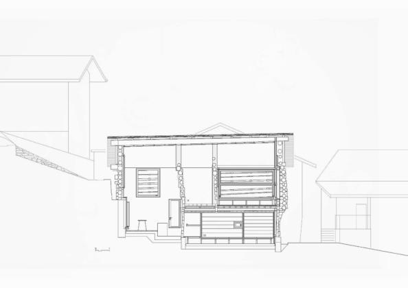 Проект альпийского лофта от студий Office Winhov и Office Haratori 21