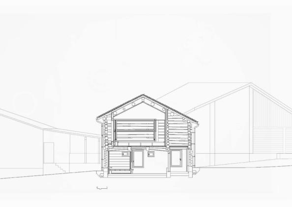 Проект альпийского лофта от студий Office Winhov и Office Haratori 22