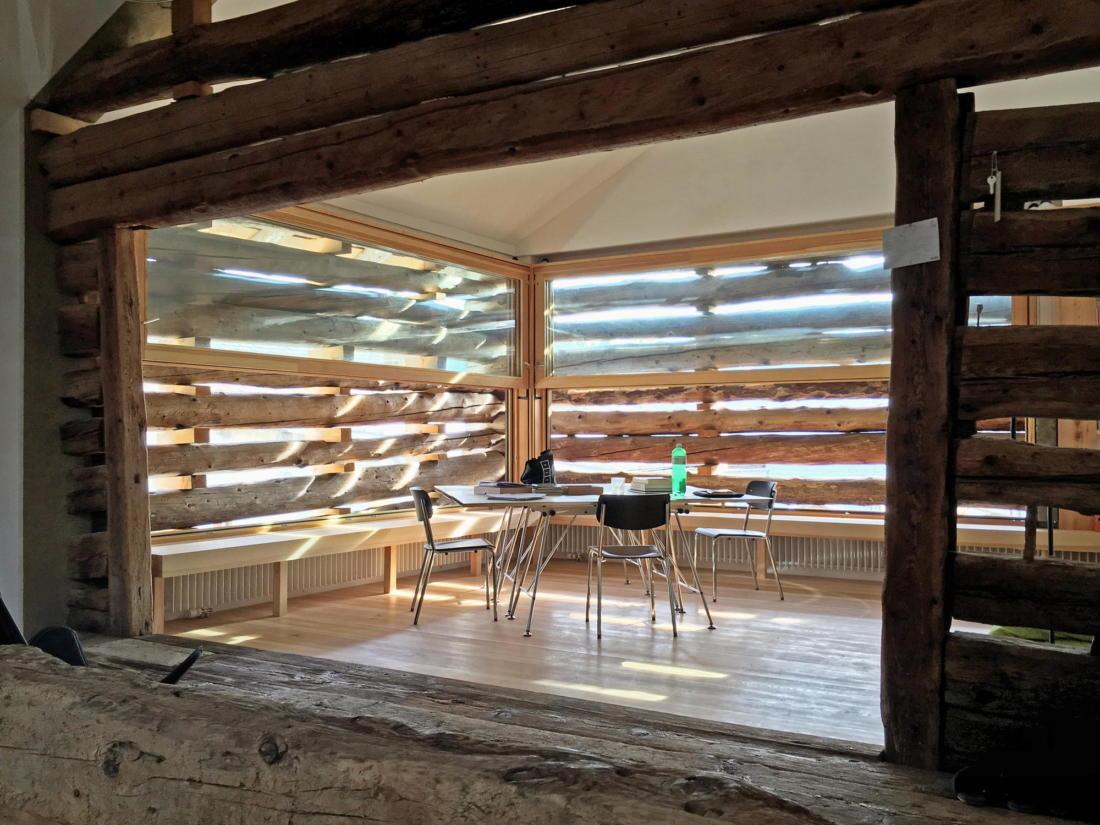 Проект альпийского лофта от студий Office Winhov и Office Haratori 3
