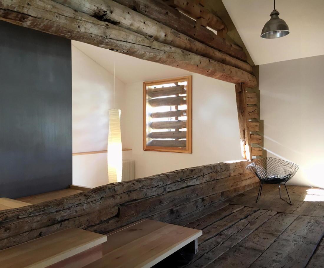 Проект альпийского лофта от студий Office Winhov и Office Haratori 5