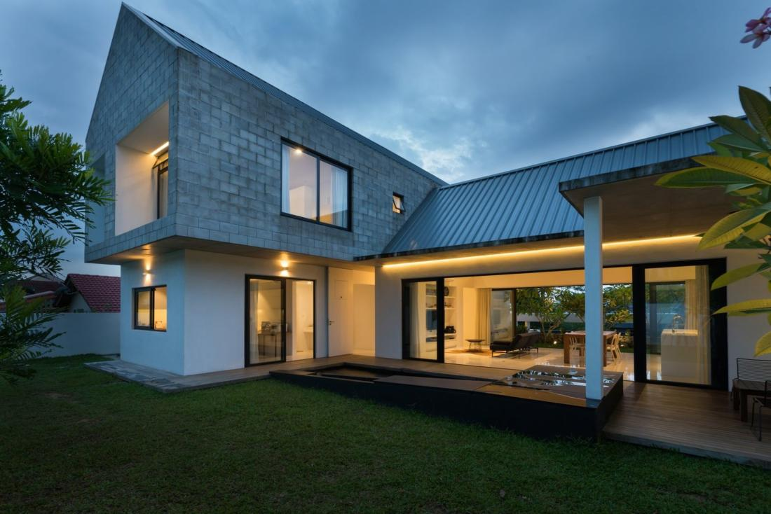 «Knikno House» от студии Fabian Tan Architect 15