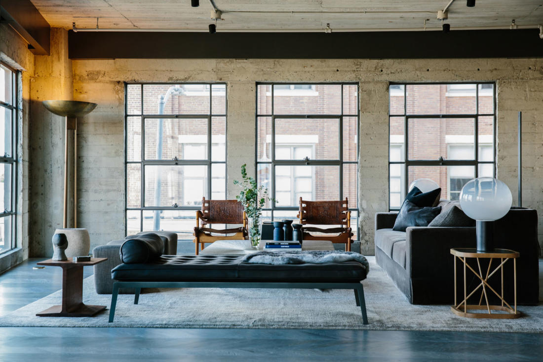 Проект Arts District Loft от Marmol Radziner 1