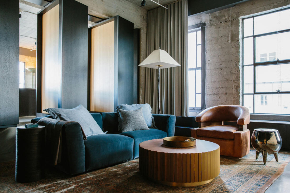 Проект Arts District Loft от Marmol Radziner 10