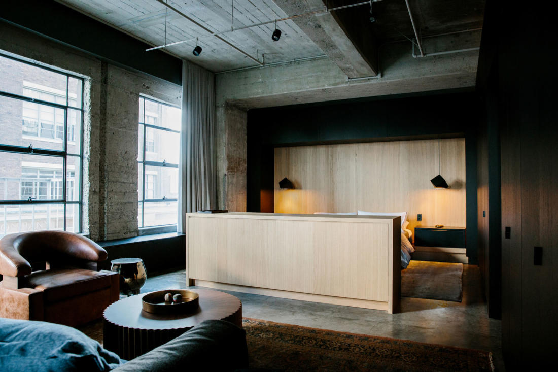Проект Arts District Loft от Marmol Radziner 12