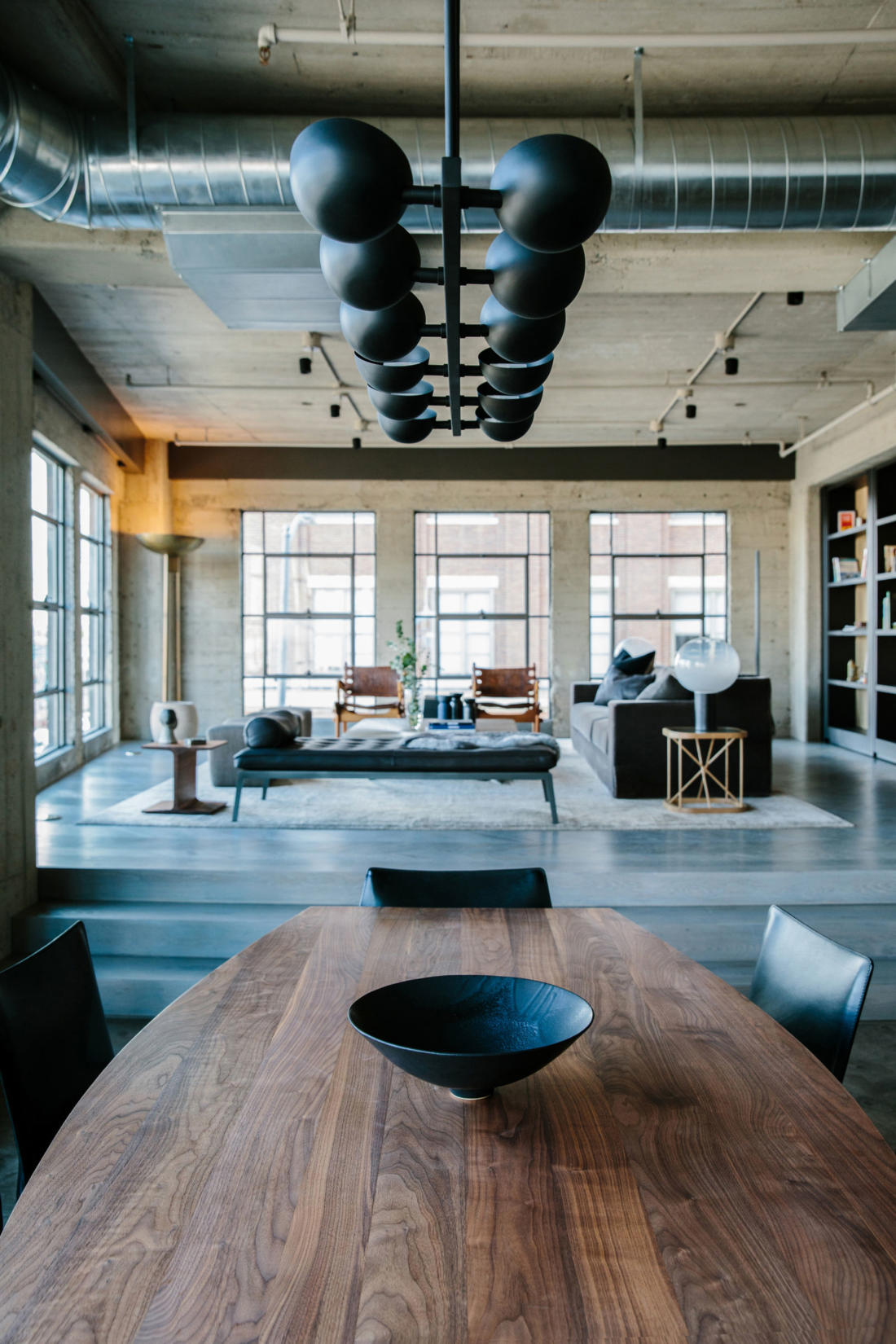 Проект Arts District Loft от Marmol Radziner 13