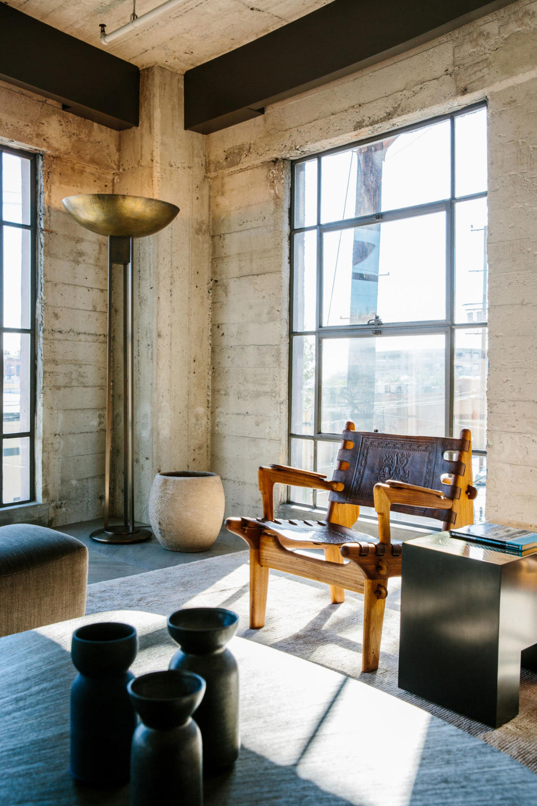 Проект Arts District Loft от Marmol Radziner 2