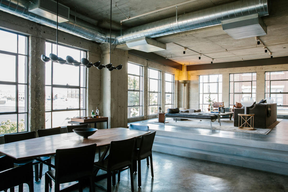 Проект Arts District Loft от Marmol Radziner 6
