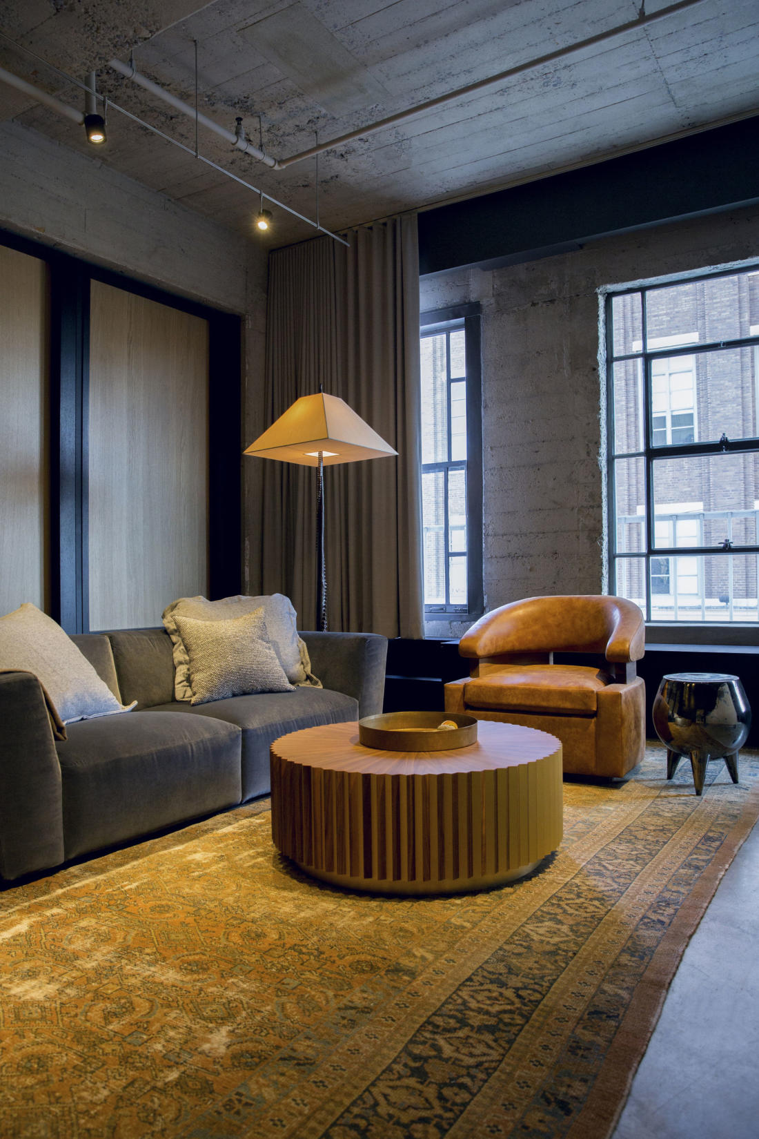 Проект Arts District Loft от Marmol Radziner 8