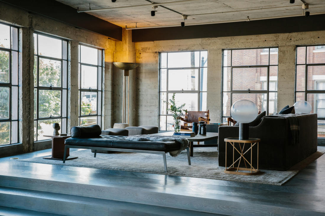 Проект Arts District Loft от Marmol Radziner 9