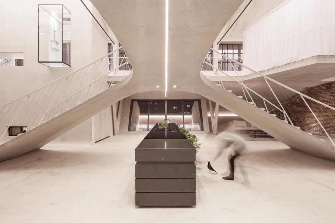 Проект Panzerhalle от студии Smartvoll Architekten ZT KG 10