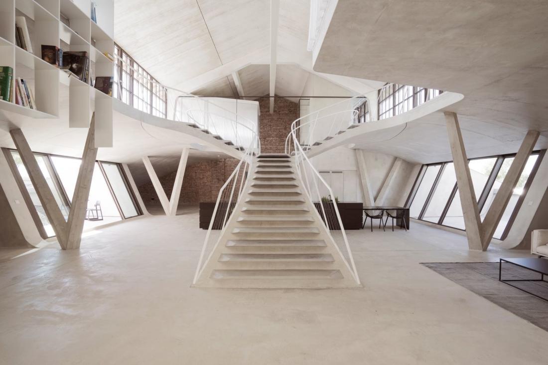 Проект Panzerhalle от студии Smartvoll Architekten ZT KG 18