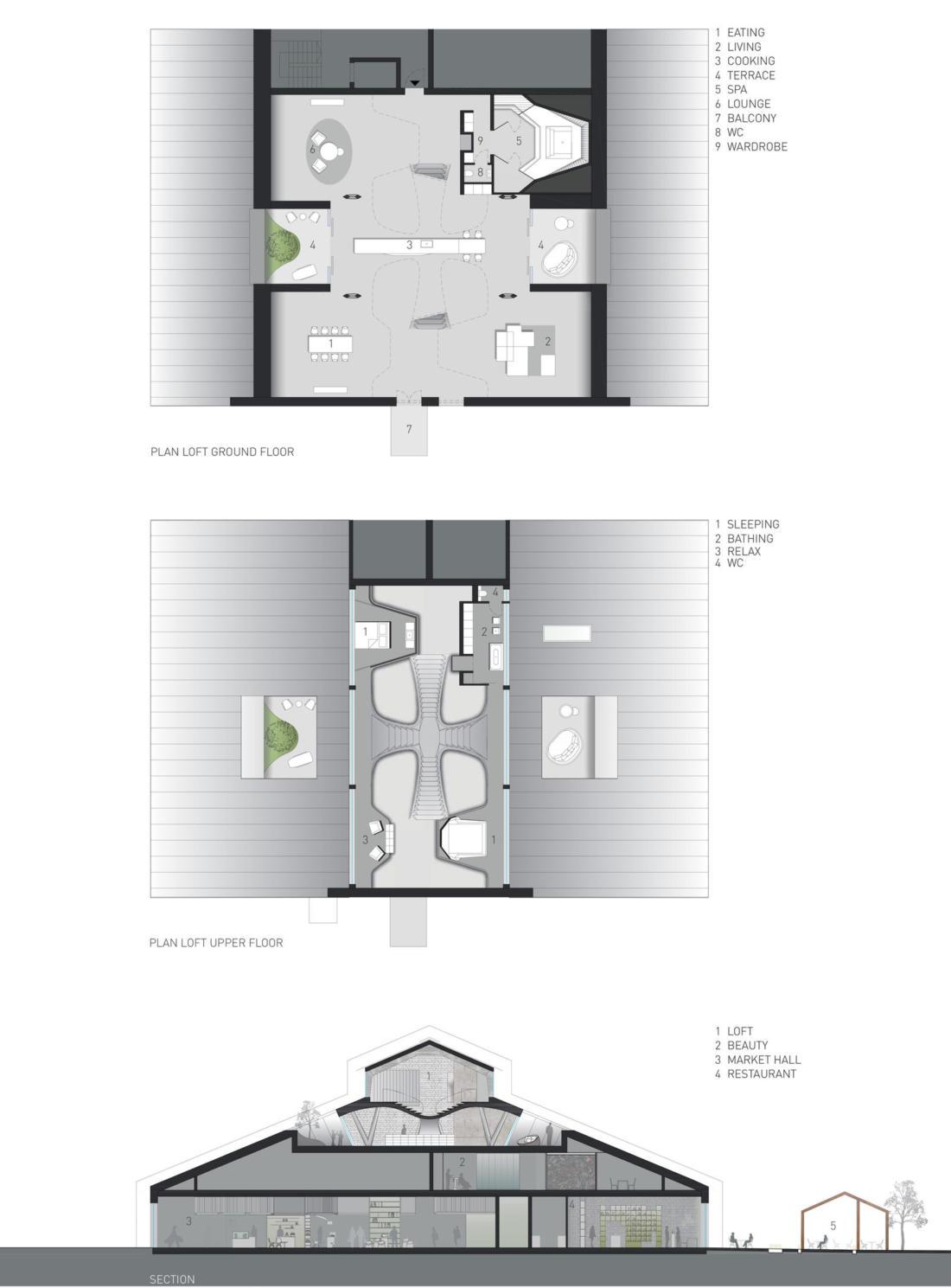 Проект Panzerhalle от студии Smartvoll Architekten ZT KG 25