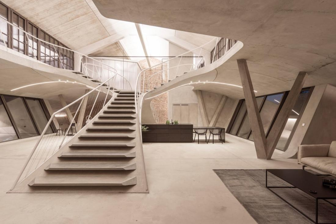 Проект Panzerhalle от студии Smartvoll Architekten ZT KG 5