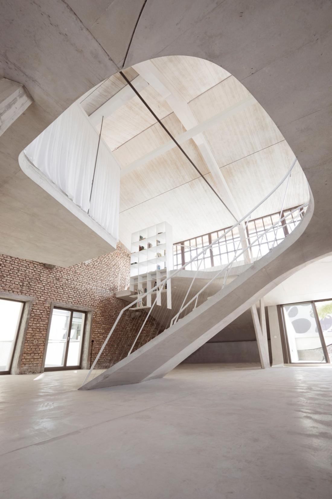 Проект Panzerhalle от студии Smartvoll Architekten ZT KG 6