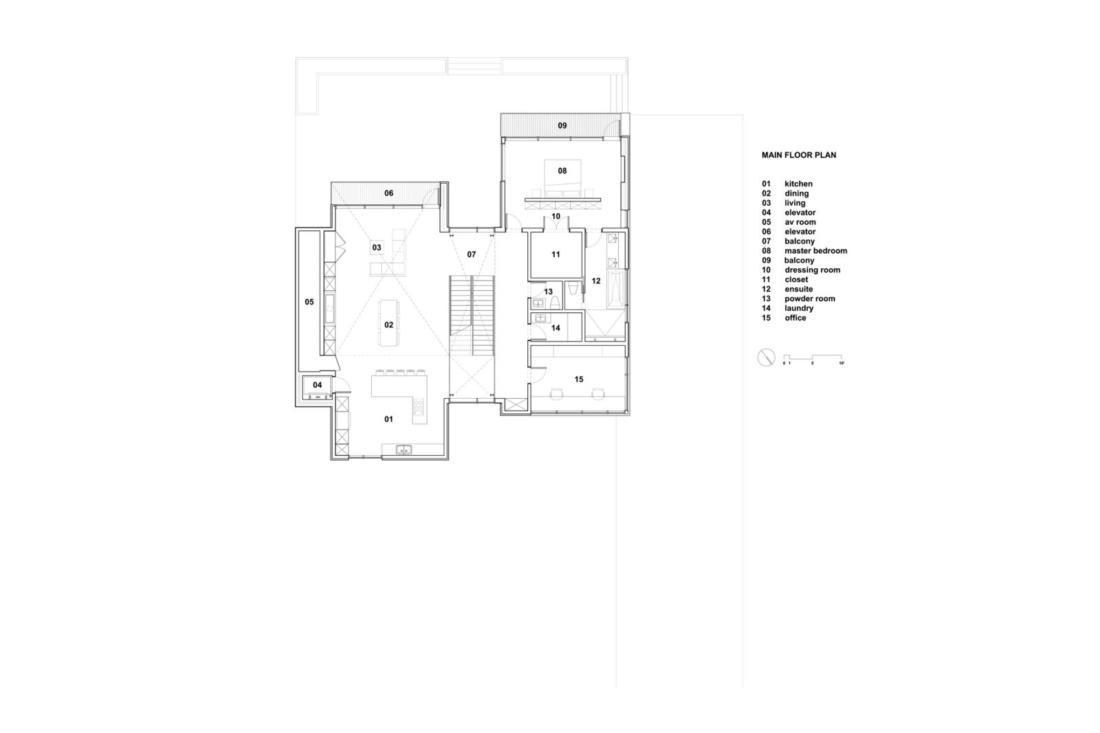 Проект «Syncline» от ателье Omar Gandhi Architect 20