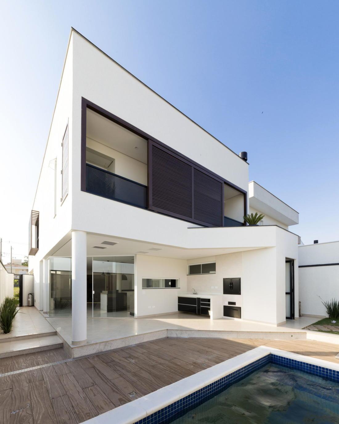 Современный дом от студии Vertentes Arquitetura 19