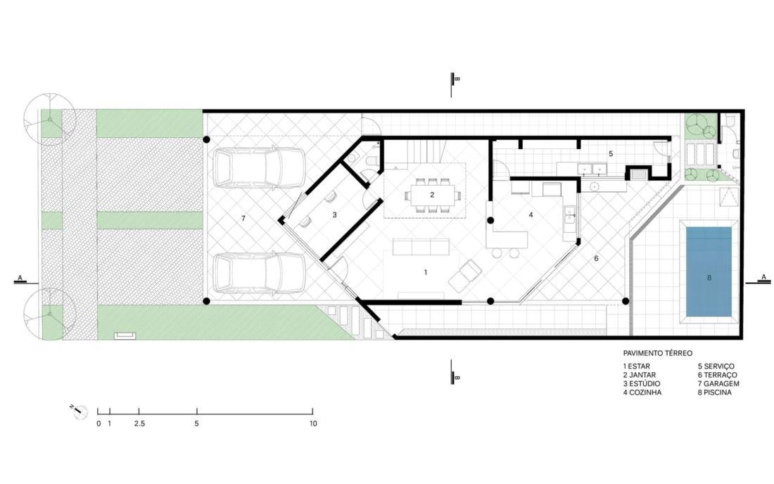 Современный дом от студии Vertentes Arquitetura 23
