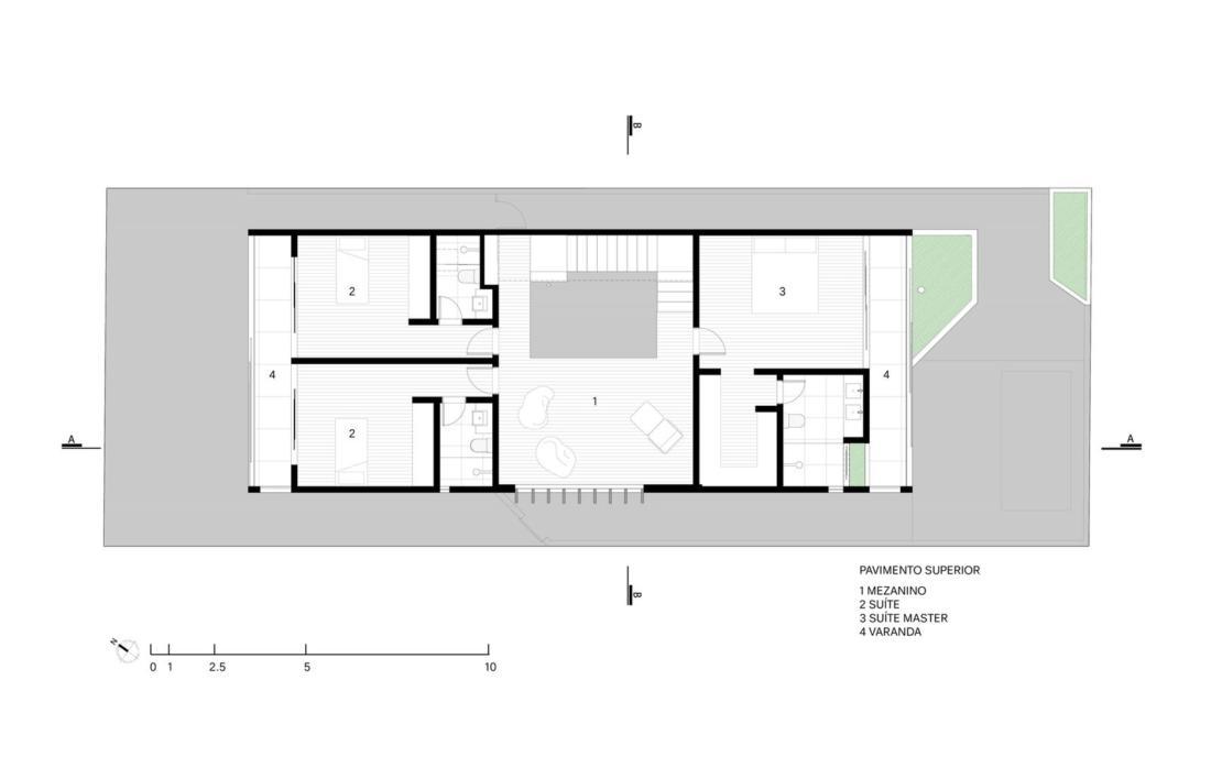 Современный дом от студии Vertentes Arquitetura 24