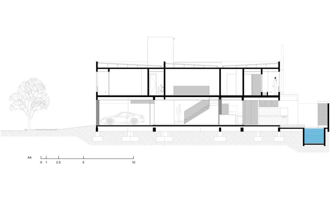Современный дом от студии Vertentes Arquitetura 27