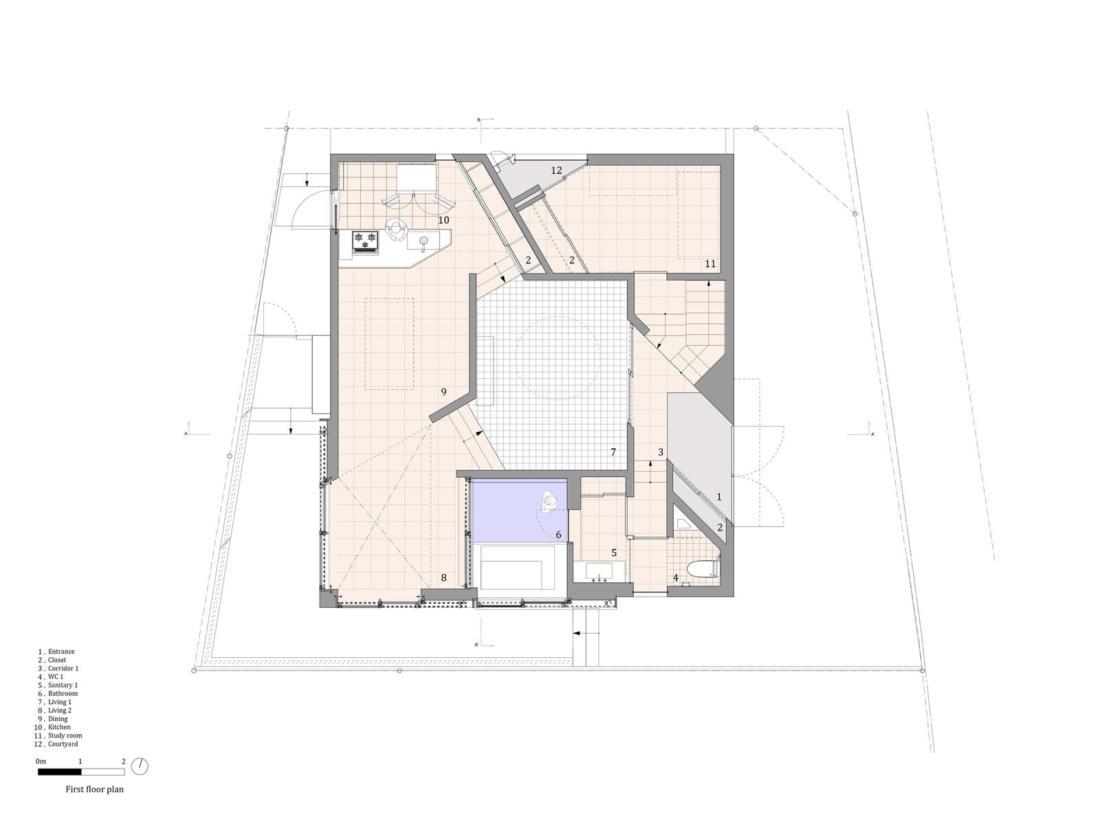 Дом в Хигасиосаке от ателье Fujiwaramuro Architects 22