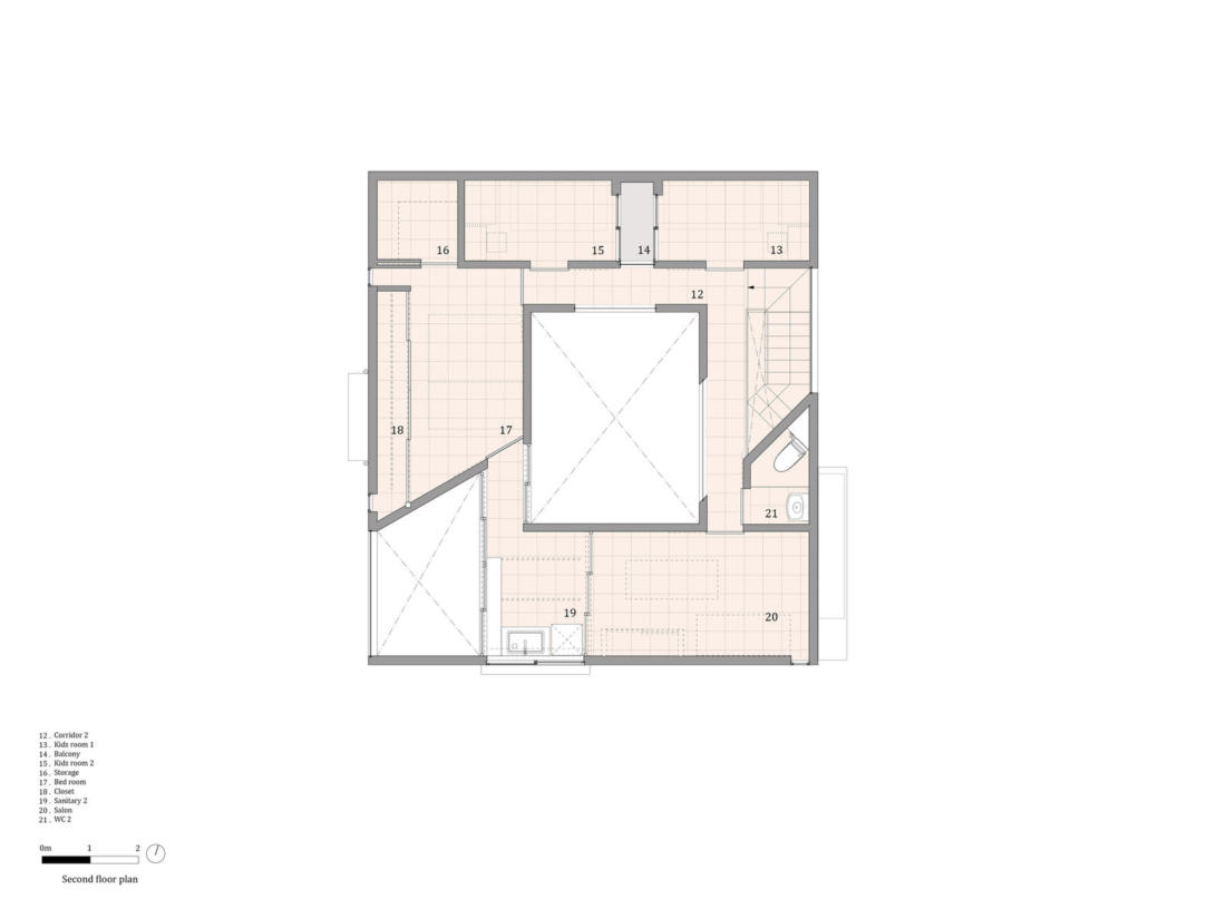 Дом в Хигасиосаке от ателье Fujiwaramuro Architects 23