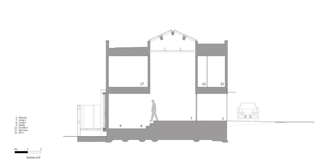 Дом в Хигасиосаке от ателье Fujiwaramuro Architects 28