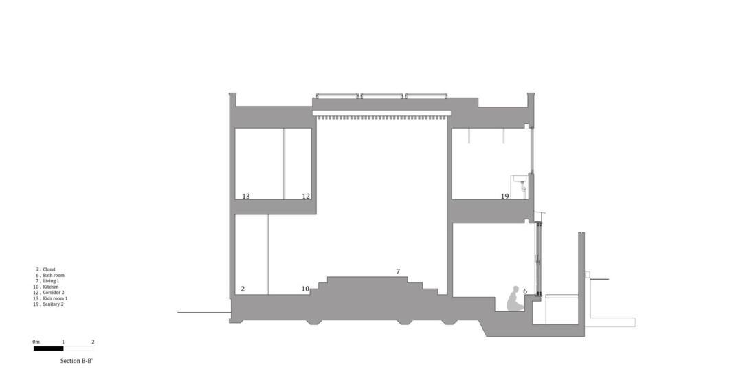 Дом в Хигасиосаке от ателье Fujiwaramuro Architects 29